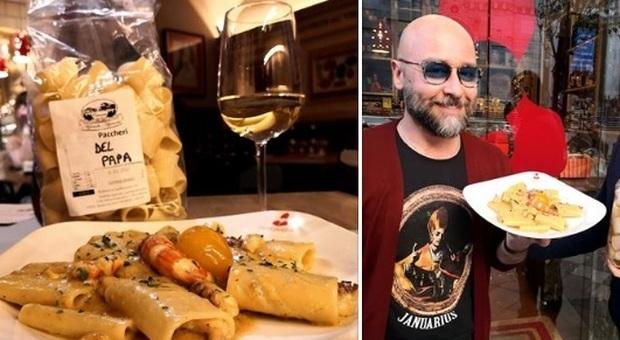 Papa Francesco, ristorante napoletano crea i «paccheri del Papa»