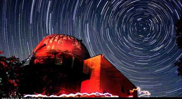 L'osservatorio  del piccolo Borgo di Coloti, in Umbria: per gentile concessione Corrado Di Noto