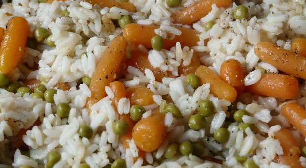 Verme nel risotto dei bambini alla mensa della scuola elementare (Foto di Hans Braxmeier da Pixabay)