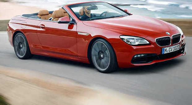 La nuova BMW Serie 6 in versione cabrio per la prima volta esposta in Europa a Ginevra