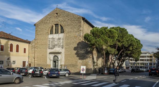 La chiesa dei Santi Martino e Rosa