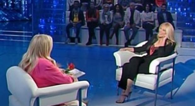 Domenica In, Eleonora Daniele: «Mio fratello mi manca, non so perché la vita abbia punito lui e non me»