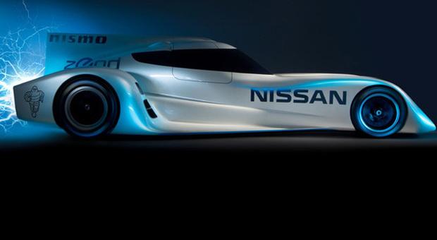 La Nissan Zeod che prenderà parte all'edizione 2014 della prestigiosa 24 Ore di Le Mans
