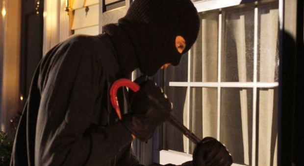 Trova il ladri in casa e rischia il malore, il bandito se ne accorge e la calma