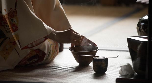 Scuola di cerimonia del tè Jaku a Lucca