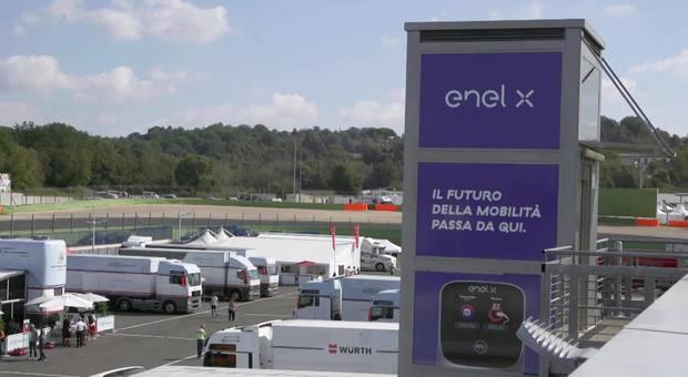 Enel X presenta e-Mobility Hub Vallelunga: primo polo per lo sviluppo delle tecnologie di mobilità elettrica