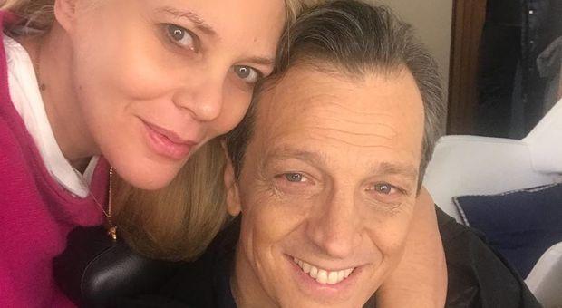 Eleonora Daniele e il selfie con Gabriele Muccino: «Quanto è bello»
