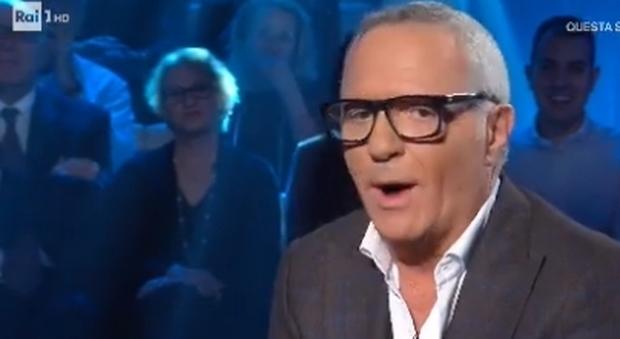 Giorgio Panariello in lacrime a Domenica In: «Mio padre e mia madre? Mai conosciuti»