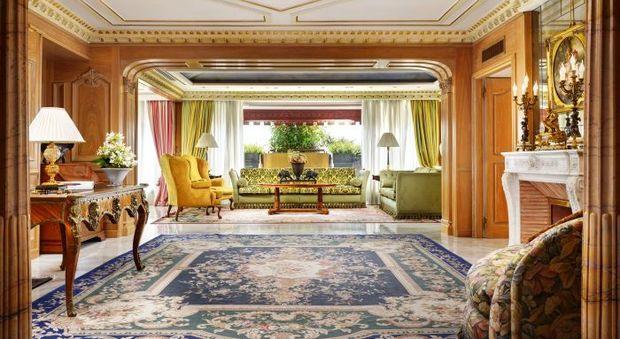 Xi Jinping a Roma, ecco la suite dove alloggia: 350 mq, marmi pregiati, due cucine e una vista mozzafiato