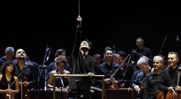Il direttore d'orchestra Ezio Bosso