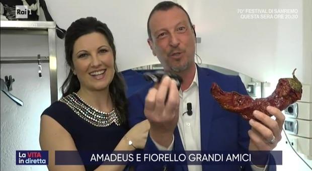 Sanremo 2020, Amadeus: «I miei portafortuna? Peperone crusco e macchinetta di mio figlio»