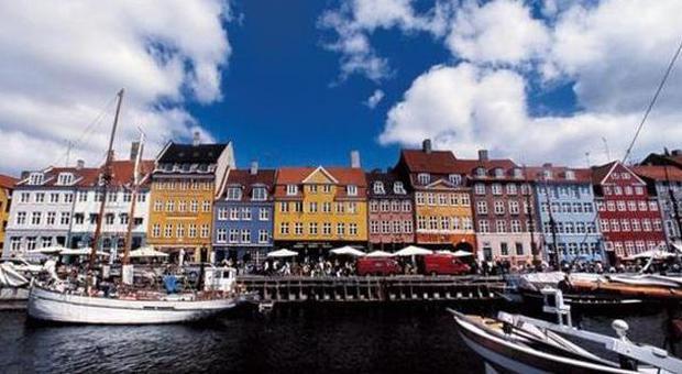 Il quartiere di Nyhavn a Copenaghen
