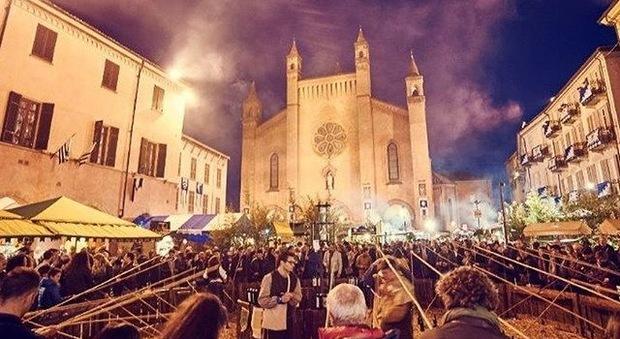Duomo di San Lorenzo in piazza Risorgimento_Fiera del Tartufo Bianco di Alba Official Instagram