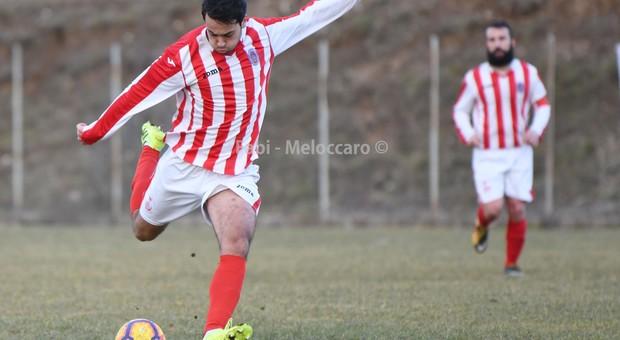 Riccardo Camilli in grande spolvero (foto Riccardo Fabi/Meloccaro)