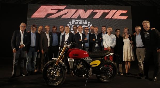 Un momento della festa dei 50 anni di Fantic Motor