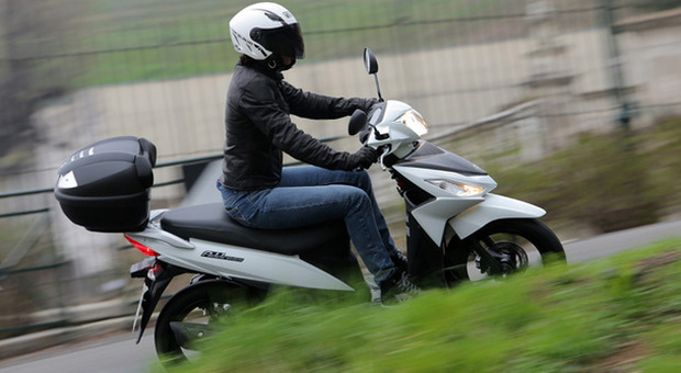 Lo scooter da città Suzuki Address
