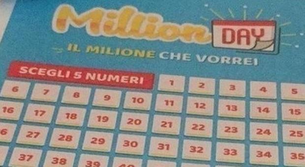 Million Day, diretta estrazione di oggi giovedì 10 ottobre 2019