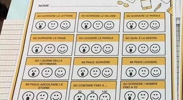 Addio alle vecchie pagelle: a scuola arrivano i voti con le emoticon