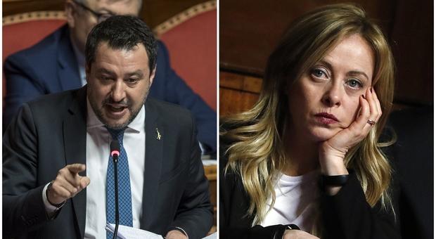 Salvini, lite con la Meloni: «Non ambisco alla destra radicale». E lei: «Stai con la Le Pen»