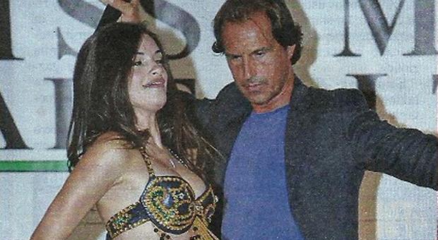 Antonio Zequila e la modella Andrada Marina (Nuovo)