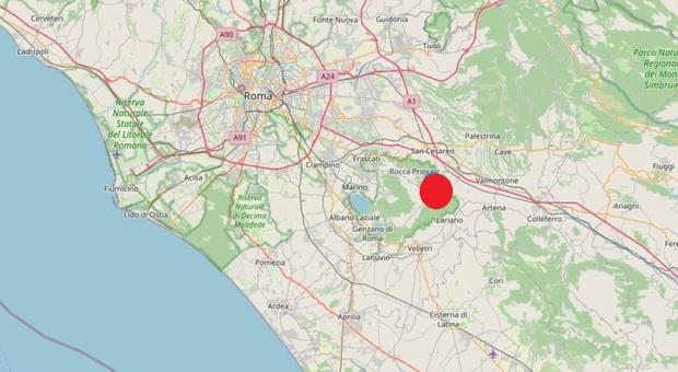 Terremoto, scossa ai Castelli: avvertita anche a Roma. Magnitudo 3. Epicentro a Lariano thumbnail