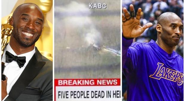 Morto Kobe Bryant, leggenda della Nba: incidente con il suo elicottero in California
