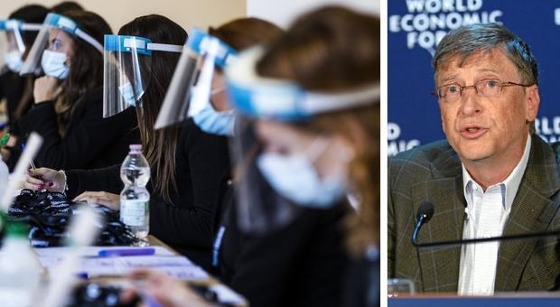 Covid, Bill Gates: «Non si tornerà alla normalità finché il virus non sarà eliminato a livello globale»