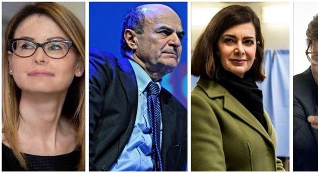 Trombati e ripescati: da Lucia Annibali a Boldrini, Sgarbi e Bersani, gli eletti 'salvi' col proporzionale