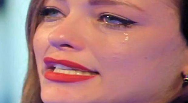 Silvia Provvedi piange al Grande Fratello Vip