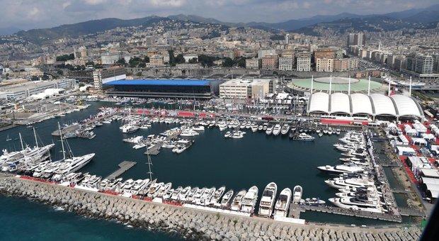 Una panoramica del Salone di Genova