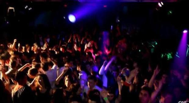 L'interno della discoteca