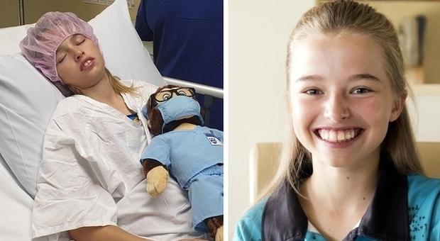Tumore, bimba di 12 anni in fase terminale guarisce. I medici: «Chiamatela Miracle Milli»