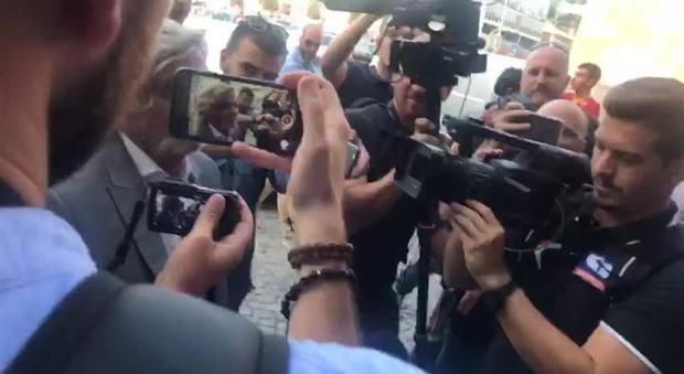 Massimo Ferrero attacca i tifosi della Roma