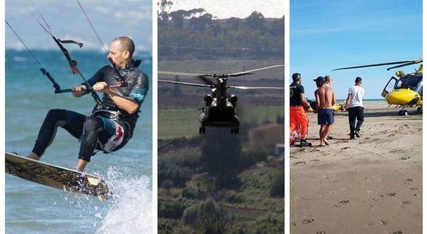 Kitesurfer risucchiato da un elicottero, la beffa del processo saltato
