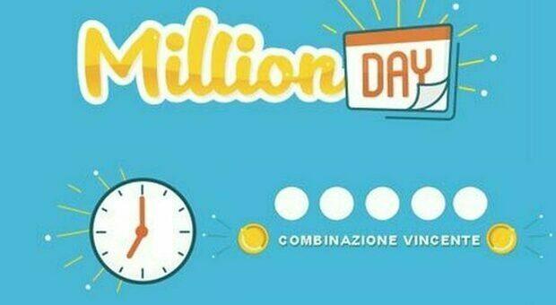 Million Day, i numeri vincenti di oggi sabato 17 ottobre 2020