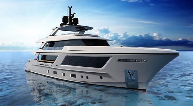Altro successo per il Cantiere delle Marche: venduto un mega yacht da 35 metri