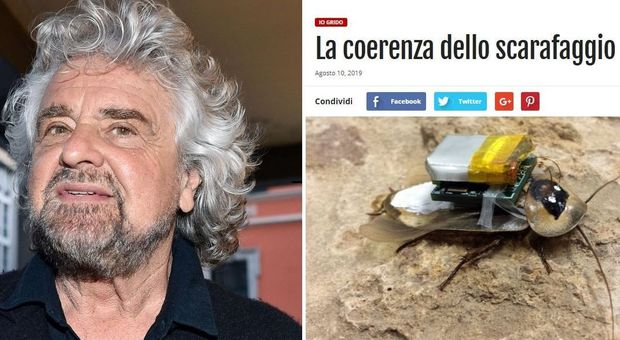 Beppe Grillo: nessuna resa a Salvini tamarro, salviamo l'Italia dai nuovi barbari