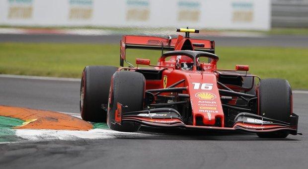 Gp Monza, Leclerc parte in pole, Vettel quarto