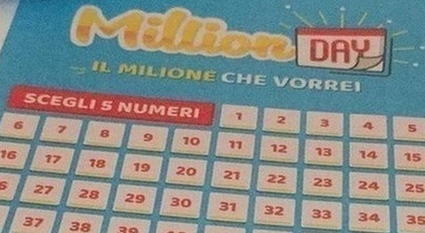 Million Day, diretta estrazione di oggi giovedì 20 giugno 2019
