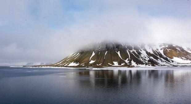Scoperte cinque nuove isole a nord della Russia (immagine pubblicata da Ministero Difesa Russia)