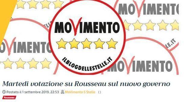 Rousseau, il giallo della votazione: il no prima del sì, poi le risposte vengono invertite