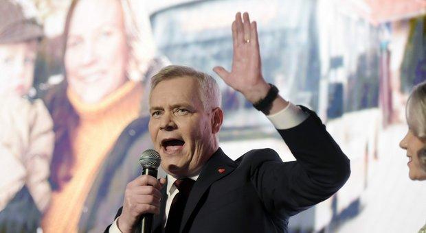 Antti Rinne, leader del partito socialdemocratico