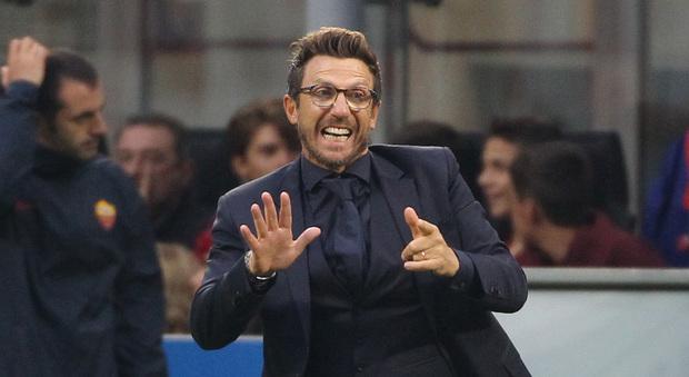 Roma, Di Francesco: «Vincerà chi farà meglio la fase difensiva. Strootman e Schick non convocati»