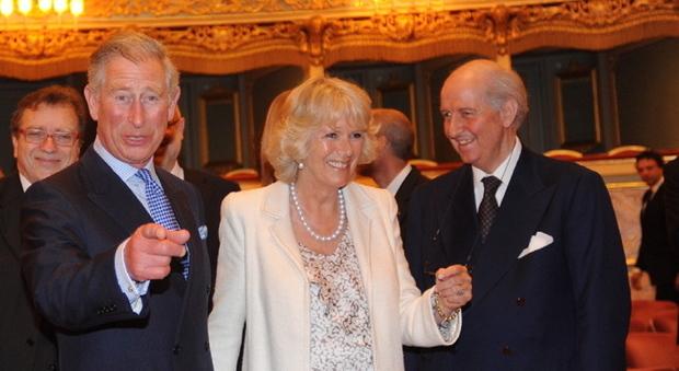 Aricci con Carlo e Camilla