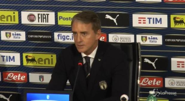 Nazionale, Mancini: «Ora le gare contano, cerchiamo risultati importanti»