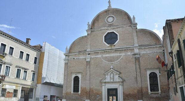 La chiesa dei Carmini a Venezia