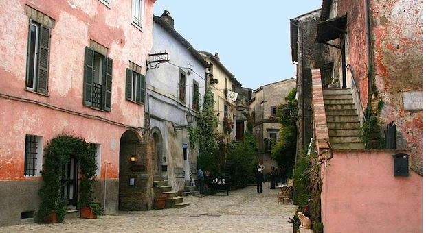 Il borgo di Calcata vecchia