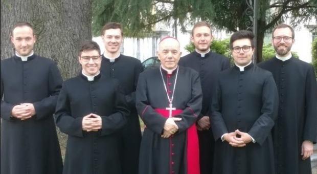 I nuovi giovani sacerdoti della Chiesa friulana