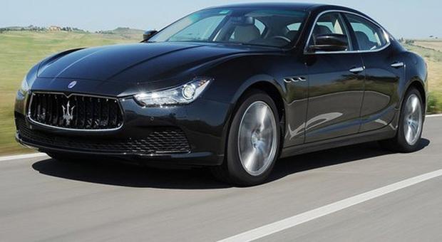 La Maserati Ghibli, il suo principale mercato sono gli Usa