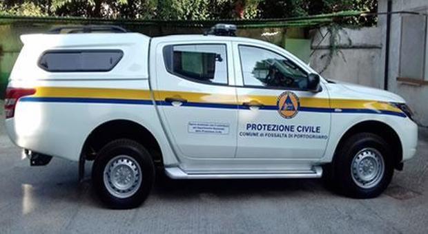 La Protezione civile a Fossalta di Portogruaro